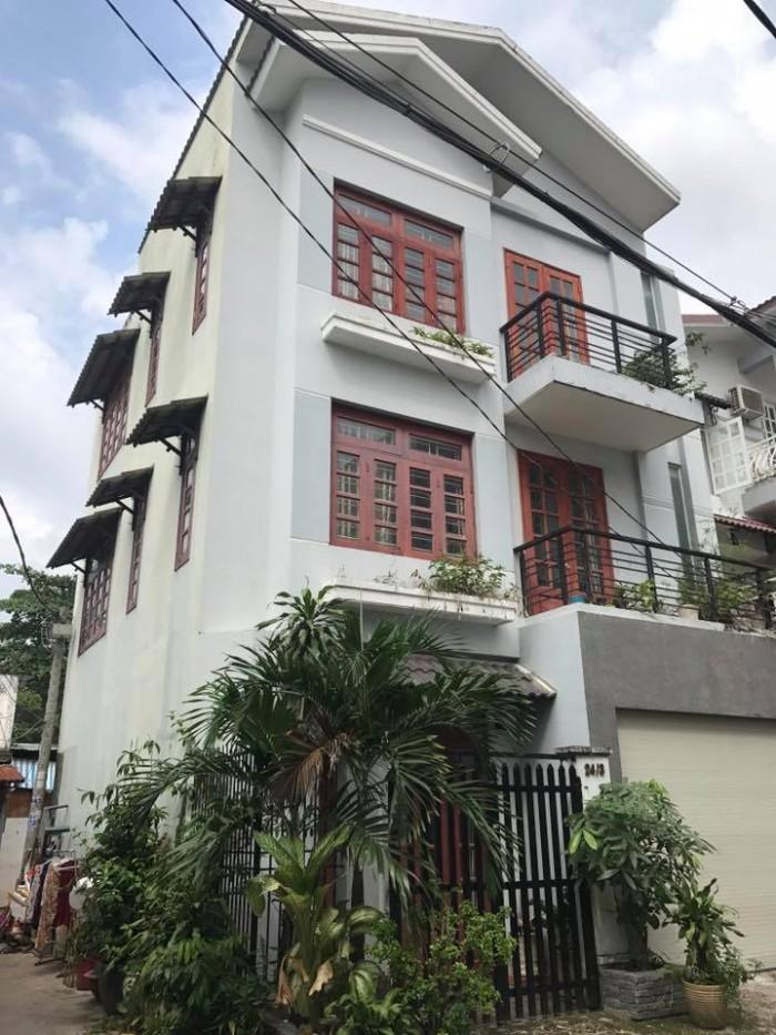 Bán nhà 6.95 tỷ, 8x10m, 3 lầu, hẻm 5m Đỗ Công Tường, P.Tân Quý, Q.Tân Phú