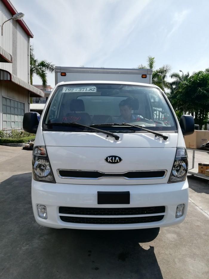 Bán xe tải Hàn Quốc KIA K250 thùng mui bạt, nâng tải mới 2021, hỗ trợ trả góp 80%.
