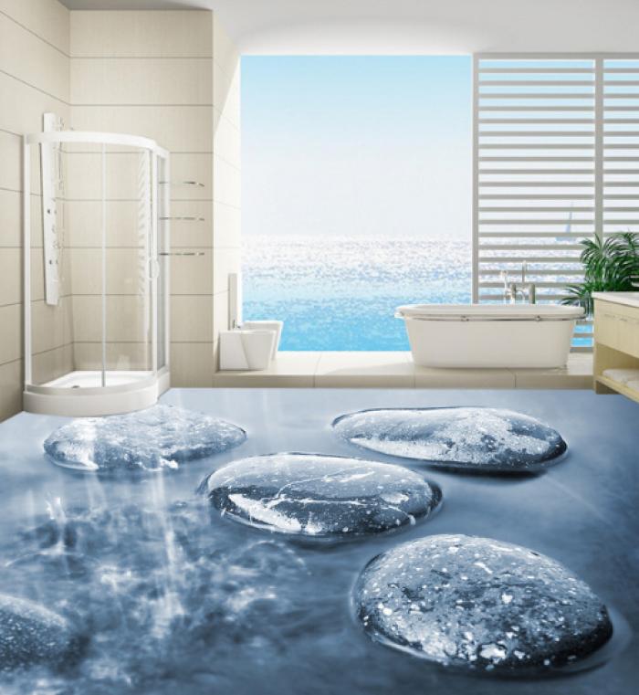 gạch 3D phòng tắm7