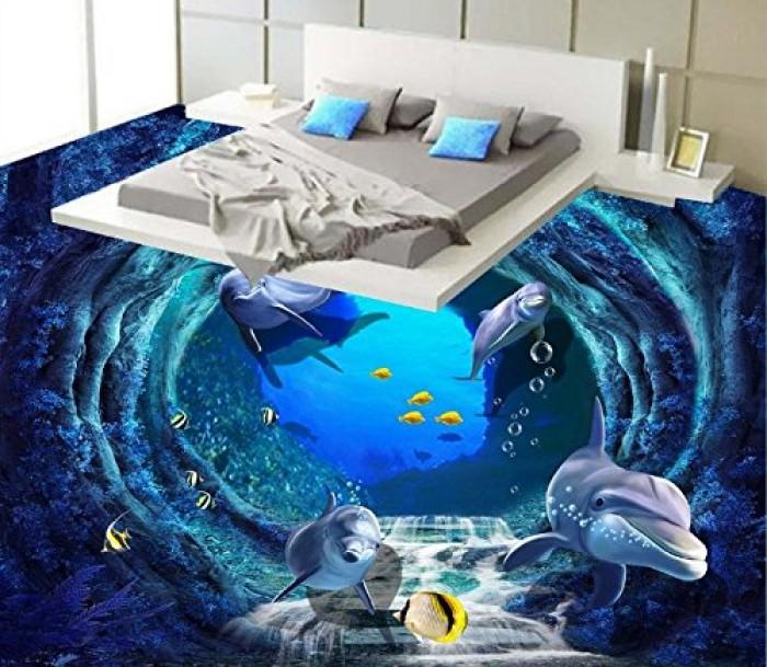 gạch 3d Phòng ngủ2