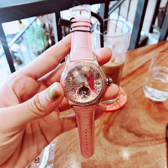 Đồng hồ nữ Reef Tiger rga7105 vẹt automatic