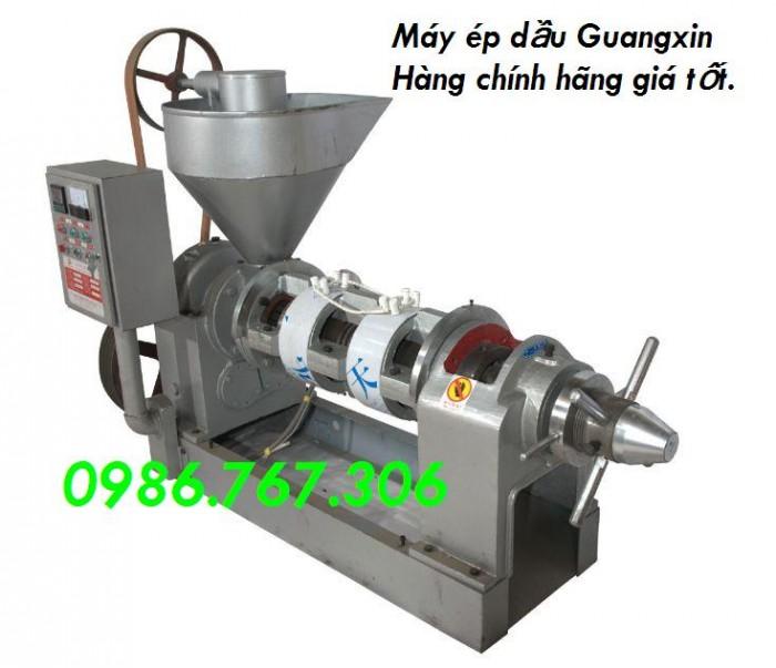 Máy ép dầu Guangxin YZYX10j-2WK,hàng chính hãng giá rẻ.0