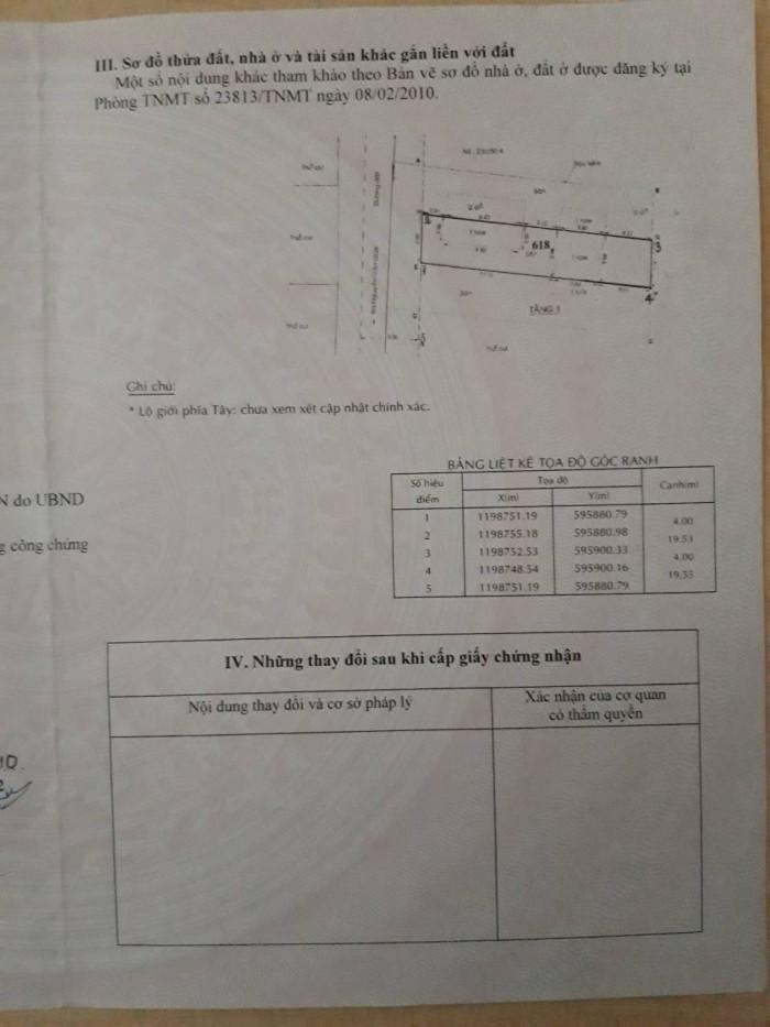 Cần bán nhà một trệt một lầu tại 391/24/24, kp 4, Nguyễn Văn Quá, P.Đông Hưng Thuận, Q.12
