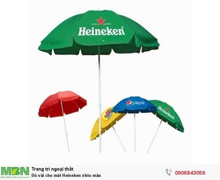 Dù vải che mát Heineken nhìu màu0