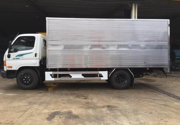 Xe tải Hyundai 110S 7 tấn thùng kín, trả trước 100 triệu, có xe giao ngay tại Hyundai Đô Thành