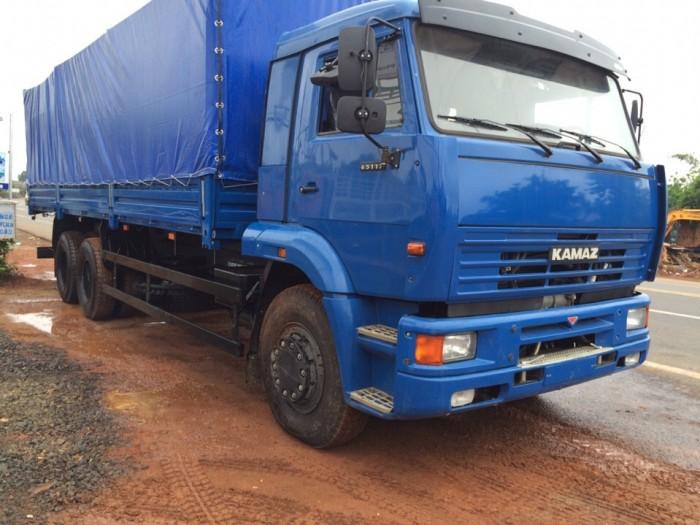 Xe tải thùng Kamaz 15 tấn, bán tải thùng Kamaz 65117 mới tại Bình dương, bán tải thùng Kamaz mới 2