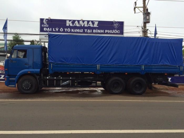 Xe tải thùng Kamaz 15 tấn, bán tải thùng Kamaz 65117 mới tại Bình dương, bán tải thùng Kamaz mới 1