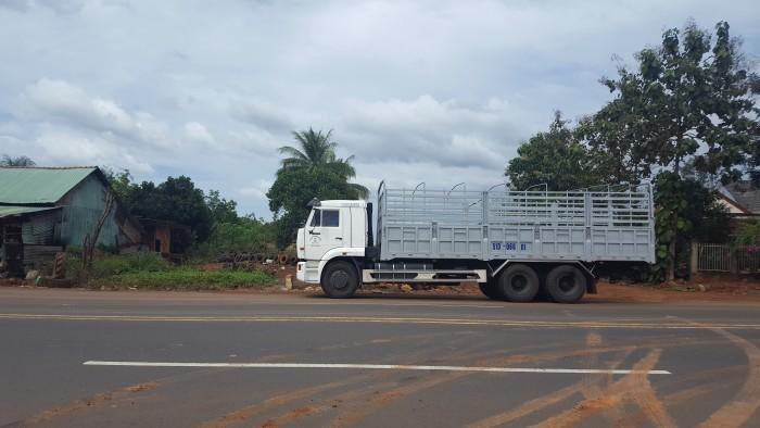 Xe tải thùng Kamaz 15 tấn, bán tải thùng Kamaz 65117 mới tại Bình dương, bán tải thùng Kamaz mới 5