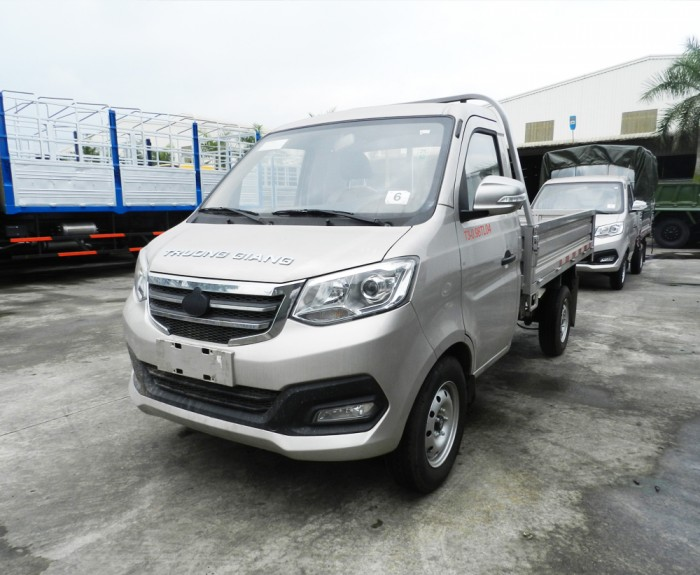 Xe có nhiều tải trọng từ 660-980 Kg