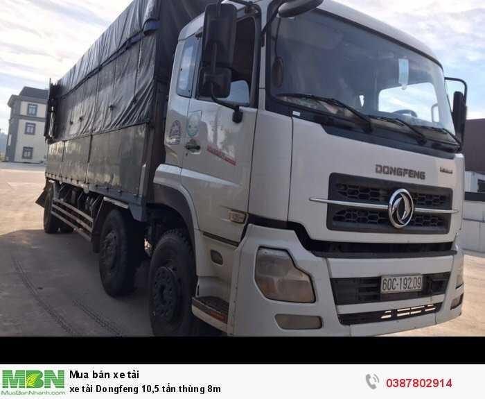 xe tải Dongfeng 10,5 tấn thùng 8m