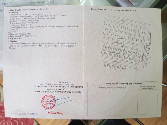 Bán nhà KDC Vĩnh Lộc tái định cư quận 5