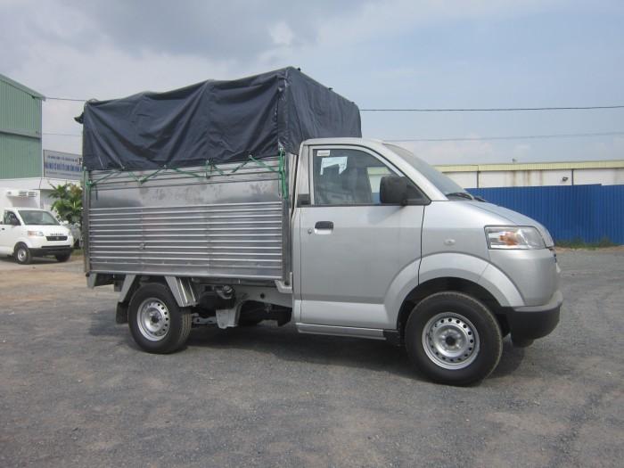 thùng dài 2.460 m  xe Suzuki Pro 750kg nhập khẩu - hỗ trợ trả góp, thủ  tục nhanh gọn, giao xe tận nơi