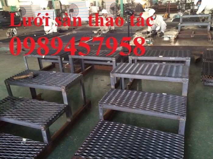 Lưới làm sàn thao tác 30x60, 45x90, 36x101 dày 3mm, 4mm, 5mm giá tốt tại Hà Nội1