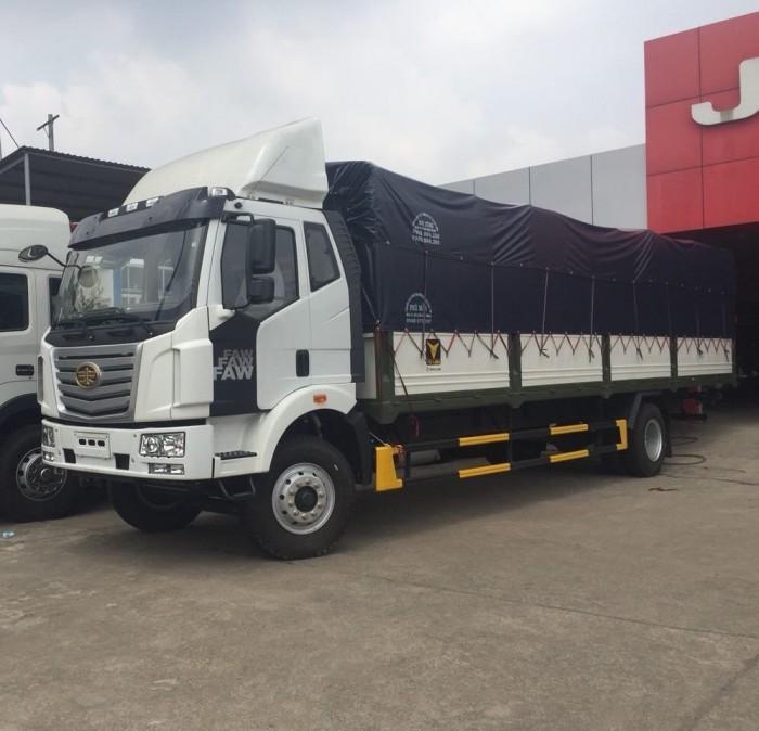Xe tải FAW 8 Tấn thùng 9m7 dài nhất VIỆT NAM