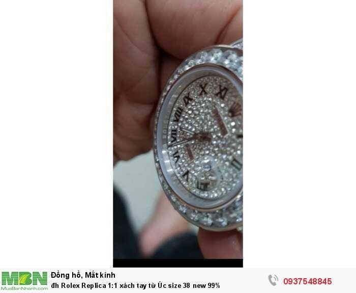 Rolex Replica 1:1 xách tay từ Úc size 38 new 99%2