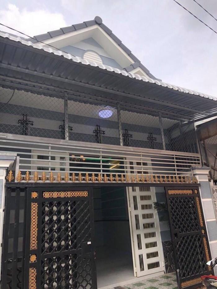 Bán nhà trệt mới đẹp hẻm 7 bờ kè đối diện chợ bà bộ đường Nguyễn Văn Linh