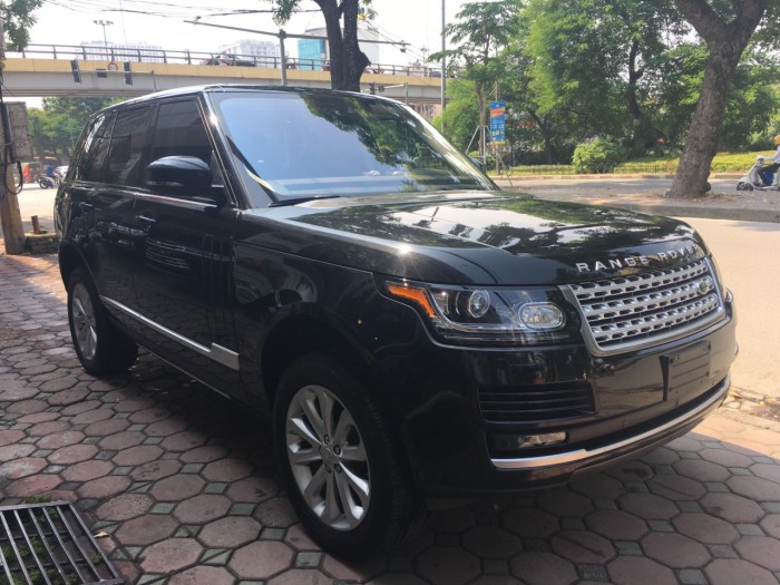 Cần bán LandRover Range Rover HSE 3.0 sản xuất 2016, màu đen, nhập khẩu
