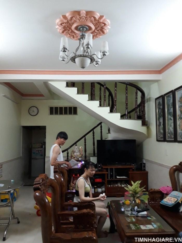 Bán nhà hẻm 1806 Huỳnh Tấn Phát, Nhà Bè, Tp.HCM. DT 4m x 12m, 2 lầu, tặng nội thất