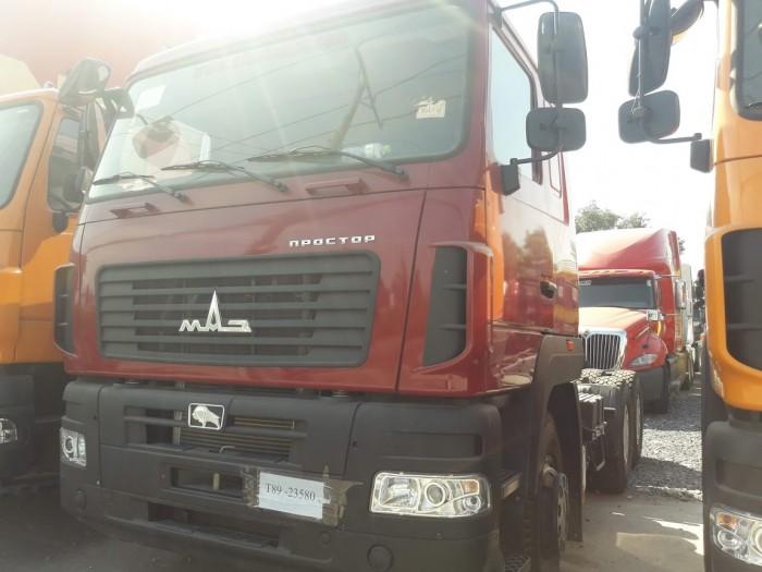 Xe đầu kéo Maz 2 cầu Euro 4 nhập khẩu nguyên chiếc ( công nghệ châu âu )