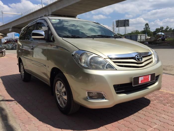 Bán Toyota Innova 2.0G Đời 2009, Giá Có Thương Lượng Với Khách Hàng Cần Mua Innova Giá Rẻ