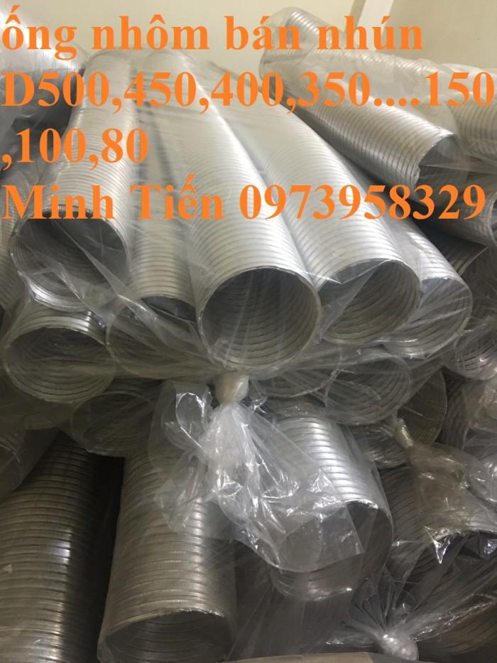 ống nhôm định hình - ống bán cứng - ống chụi nhiệt phân phối toàn quốc D80,D100,D125,D150,D175,D200,D250,D300,D350,D40014