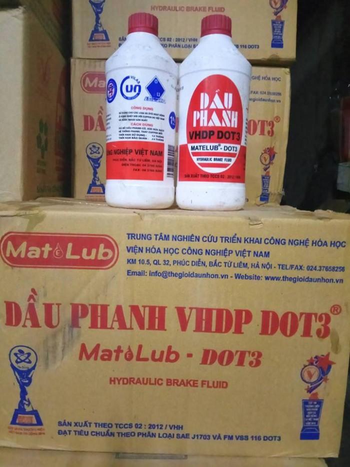 Dầu phanh VHDP DOT3