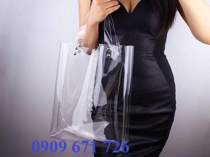 Đơn vị sản xuất túi zip nhựa, túi nhựa dẻo thời trang trong suốt giá rẻ0
