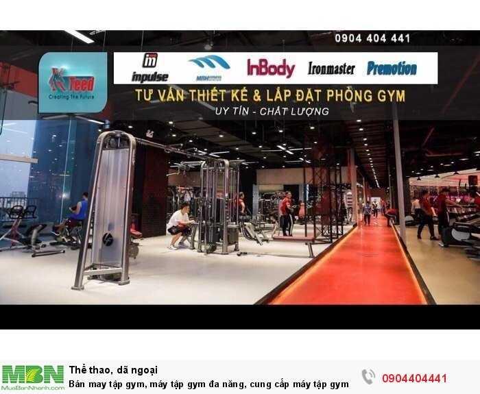 Bán may tập gym, máy tập gym đa năng, cung cấp máy tập gym setup phòng gym
