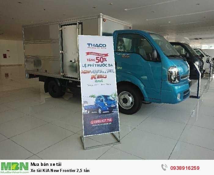 Xe tải KiA New Frontier 2,5 tấn