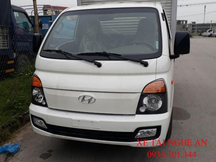 Hyundai Porter H150 thùng kín tải trọng 1.5 tấn ở Nghệ An