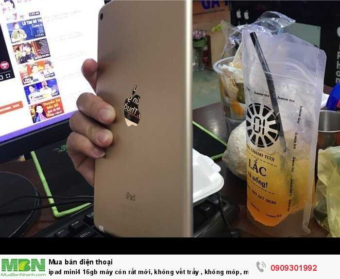Ipad mini4 16gb máy còn rất mới, không vết trầy, không móp, mình bán lại 4tr5002