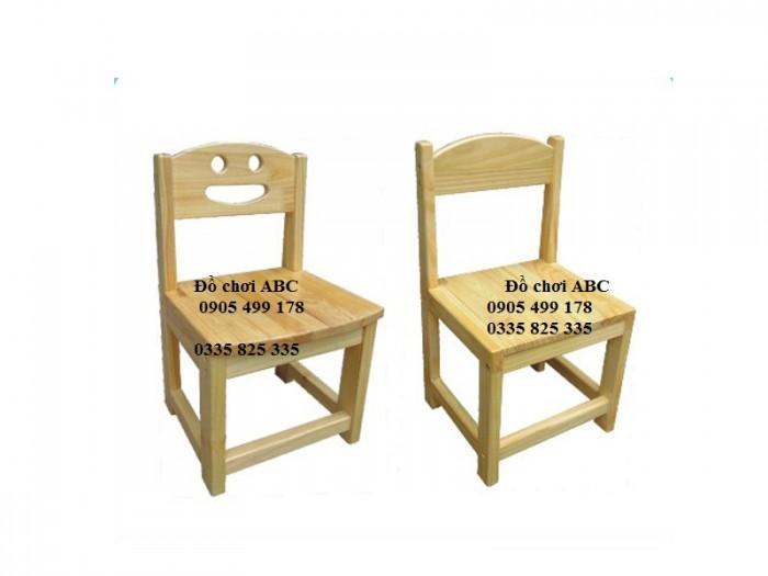 ghế gỗ mầm non tại quy nhơn