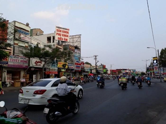 Cho thuê MTKD Hà Huy Giáp 6.5x35m(nở hậu 7.9m), cấp 4