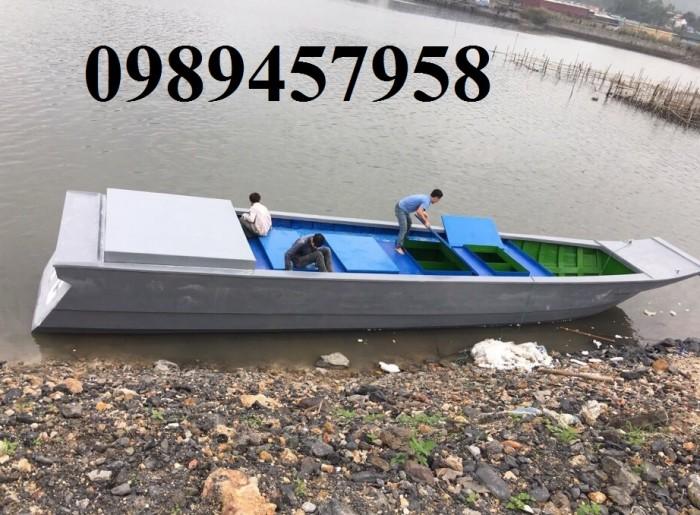Thuyền chở hàng 1000-1200kg, cano chở 3-4 người giá rẻ, võ lái giá rẻ1