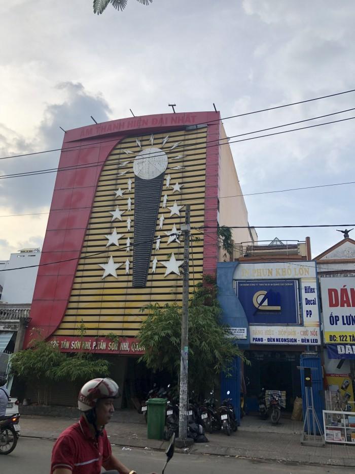 Bán nhà MTKD đường Tân Sơn Nhì 1 trệt 4 lầu đang cho thuê 50tr./tháng