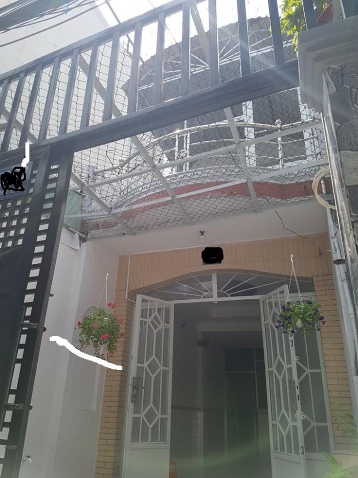 Nở Hậu, nhà Đinh Tiên Hoàng 36m2, Bình Thạnh