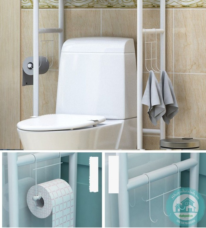 Kệ Để Tường Phòng Tắm, Nhà Vệ Sinh NX13040