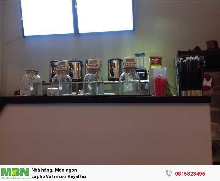 Cà phê và Trà sữa Royal Tea2