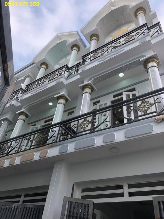 Bán Nhà .2 Lầu Bình Hưng Hòa B Bình Tân