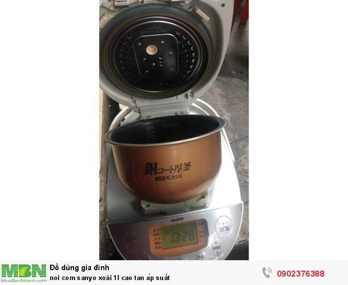 Nồi cơm sanyo xoài 1l cao tan áp suất0
