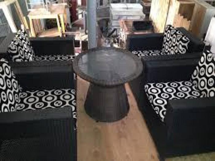 Bàn ghế sopha cafe giá rẻ tại xưởng sản xuất HM 16