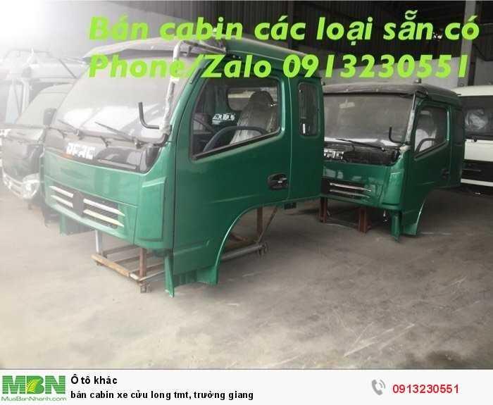 Bán cabin xe Cửu Long tmt, Trường Giang