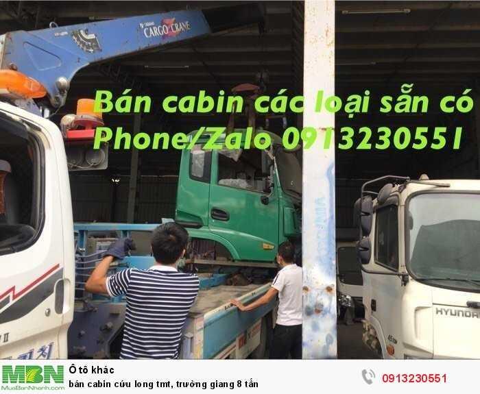Bán Cabin Cứu Long Tmt, Trường Giang 8 Tấn