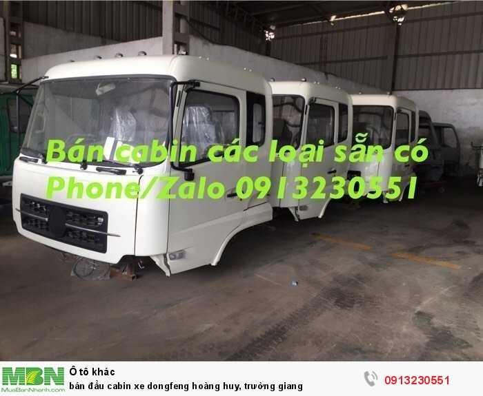 Bán Đầu Cabin Xe Dongfeng Hoàng Huy, Trường Giang