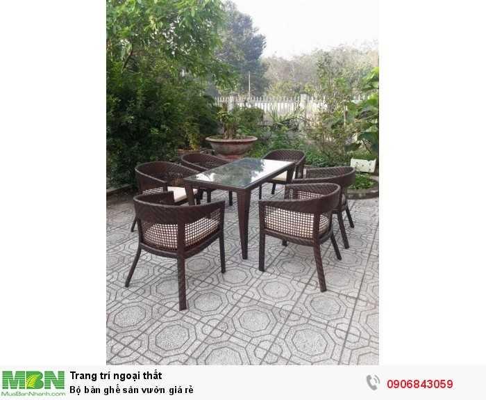 Bộ bàn ghế sân vườn giá rẻ0
