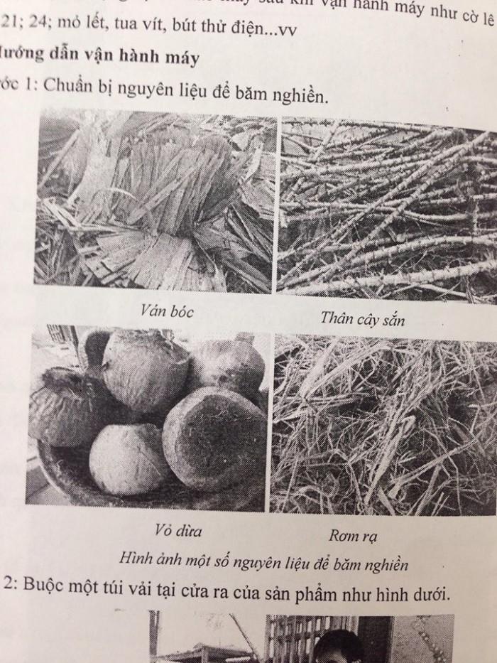 Máy Băm nghiền rơm rạ, vỏ dừa, tạp gỗ0