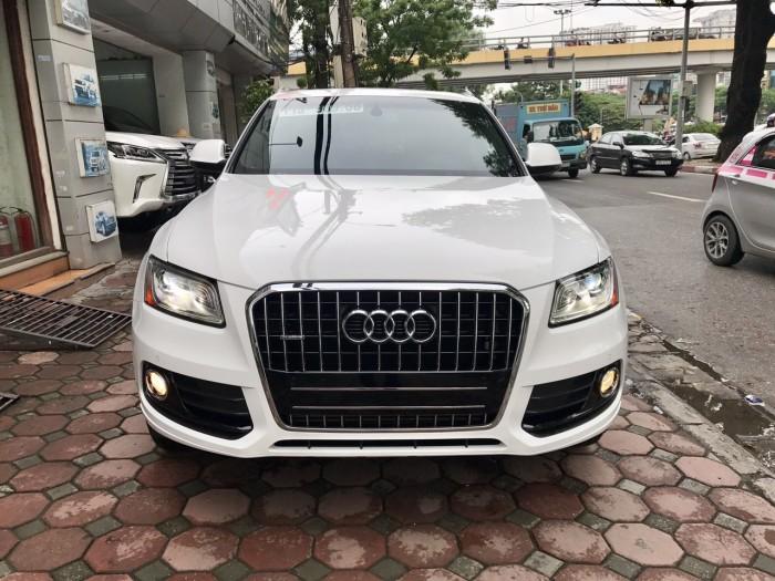 Bán xe Audi Q5 đời 2017, màu trắng, xe nhập Mỹ full đồ