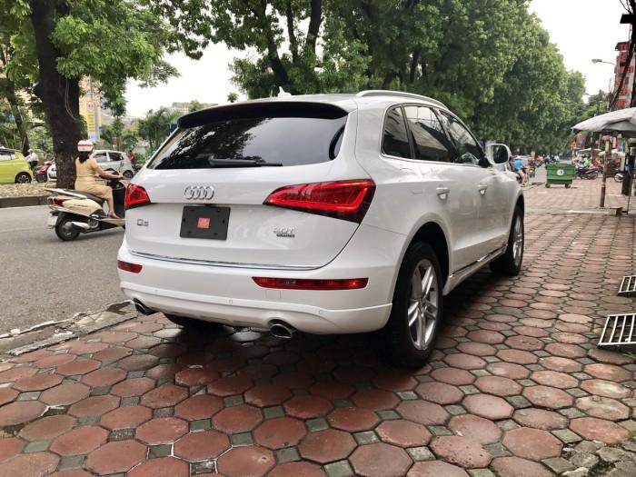 Bán xe Audi Q5 đời 2017, màu trắng, xe nhập Mỹ full đồ 24