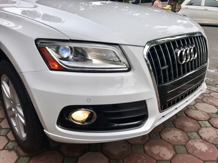 Bán xe Audi Q5 đời 2017, màu trắng, xe nhập Mỹ full đồ 8