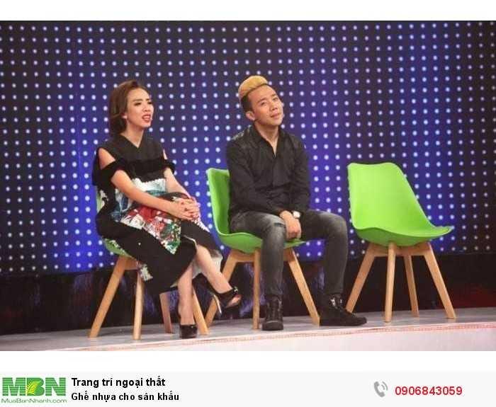 Ghế nhựa cho sân khấu
